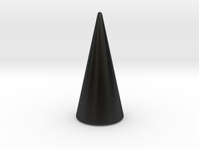 Mount Ngauruhoe - Ring Holder - single in Matte Black Porcelain