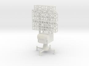 1/144 Scale German Limber Freya Radar in White Strong & Flexible