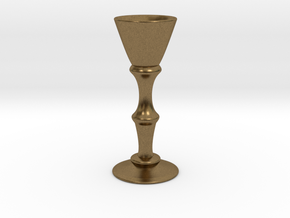Candle Holder Model S in Natural Bronze
