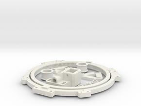 Turret Rotation Kit For 1974 Tamiya M4 in White Natural Versatile Plastic