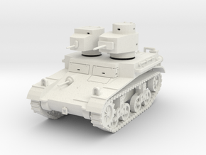 """PV42 M2A2 """"Mae West"""" Light Tank (1/48) in White Natural Versatile Plastic"""