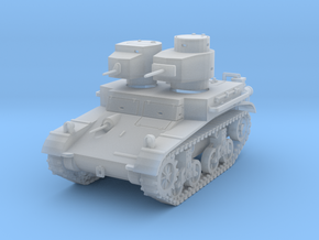 PV42E M2A2 Light Tank (1/87) in Smooth Fine Detail Plastic