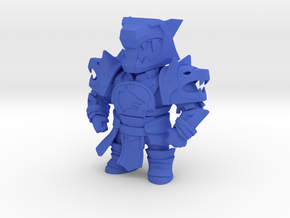 Destiny Rise of Iron Mini Titan in Blue Processed Versatile Plastic