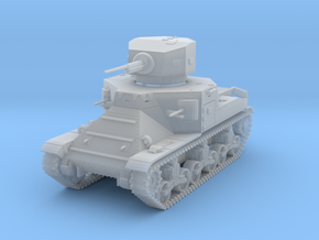 PV37D M2A1 Medium Tank (1/87) in Smooth Fine Detail Plastic