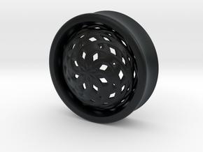 VORTEX3-33mm in Black Hi-Def Acrylate