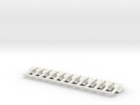 1/100 SS-11 Missile (set of 12) in White Natural Versatile Plastic