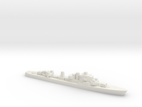 Ostergotland-class Destroyer, 1/1800 in White Natural Versatile Plastic