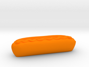 Hotdog in Orange Strong & Flexible Polished