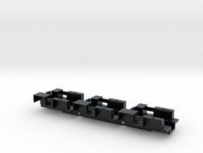 7201B • 3×M9A1 Half-track Body in Black Hi-Def Acrylate