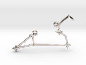 The Constellation Collection - Leo in Platinum