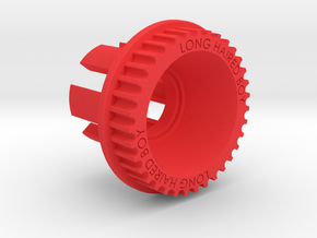 10mm 35T Pulley For Flywheels in Red Strong & Flexible Polished