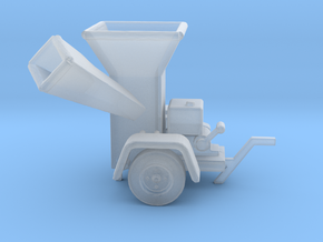 WoodChipper-Yard HO 87:1 Scale in Frosted Ultra Detail