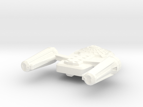 USS Jaunt in White Strong & Flexible Polished