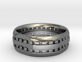 Split Ring in Premium Silver