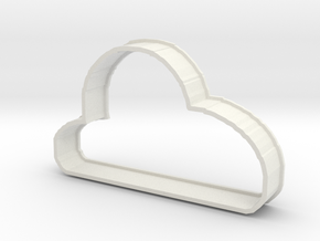 Cloud Cookie in White Strong & Flexible