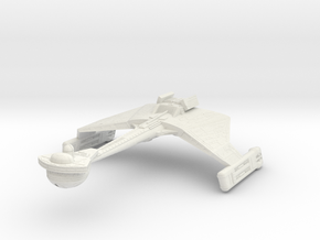 "Valtinga Class  Cruiser  3.3"" in White Natural Versatile Plastic"