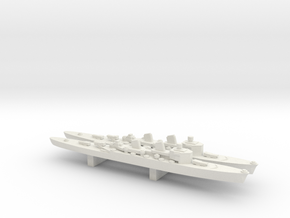 Tre Kronor-class cruiser x 2, 1/3000 in White Natural Versatile Plastic