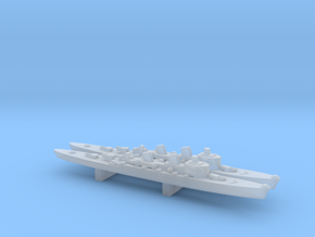 Tre Kronor-class cruiser x 2, 1/3000 in Smooth Fine Detail Plastic