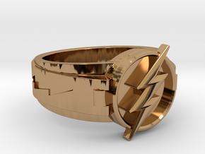 V3 Flash Size 12 21.49mm in Polished Brass