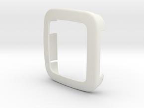 Pebble Time - Bumper in White Natural Versatile Plastic