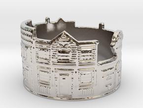 Estate Ring (size 4-13) in Platinum
