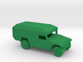 1/200 Scale HUMVEE Mini-Ambulance M996 in Green Processed Versatile Plastic