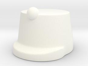 Austrian Infantry Hat WW1 in White Processed Versatile Plastic