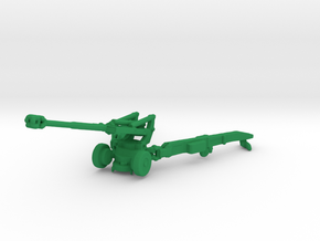 1/200 Scale M198 155mm Howitzer in Green Strong & Flexible Polished