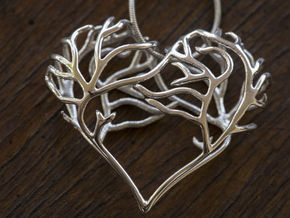 Complicated Passion in Polished Silver