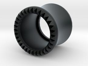 VORTEX9-10mm in Black Hi-Def Acrylate