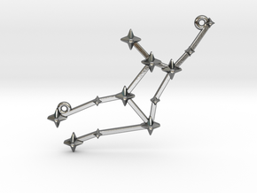 The Constellation Collection - Virgo in Polished Silver