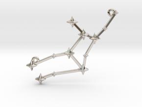 The Constellation Collection - Virgo in Platinum