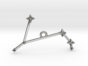 The Constellation Collection - Aries in Polished Silver