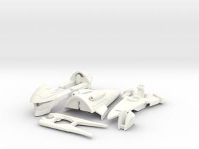 VF-4K Custom Head Unit in White Processed Versatile Plastic