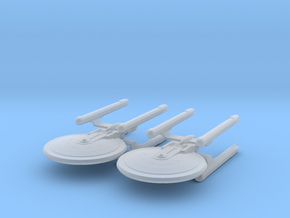 1/7000 - Tessera Explorer Cruiser - 2 ships pack in Frosted Ultra Detail