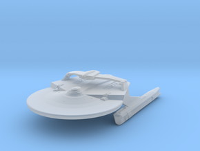 USS Trial NCC-1948 Attack Wing in Smooth Fine Detail Plastic