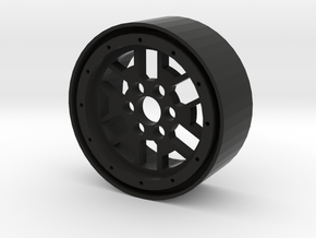 "2.2"" Sierra beadlock wheel in Black Natural Versatile Plastic"
