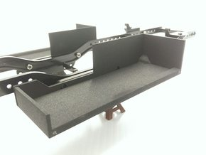 CMAX+D90 LEFT Battery Tray in Black Strong & Flexible
