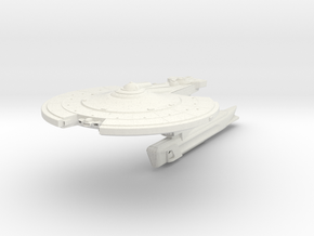 Midfrie Class II  Destroyer in White Strong & Flexible