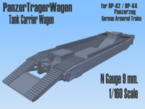 1-160 Panzer-Tr-Wagen For BP-42 in Smooth Fine Detail Plastic