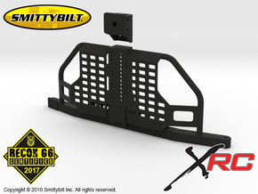 AC10001 Smittybilt XRC Atlas Tire Carrier in Black Strong & Flexible