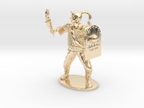 Goblin Miniature (MM Cover) in 14K Yellow Gold: 1:60.96