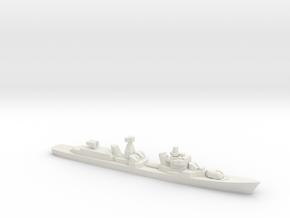 Destroyer Bravyy, 1/1800 in White Natural Versatile Plastic