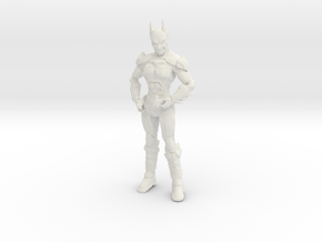 Armored Batgirl  in White Strong & Flexible