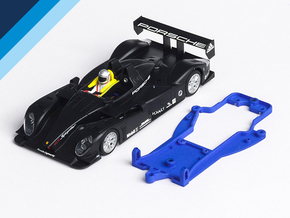 1/32 Avant Slot LMP Chassis for Slot.it pod in Blue Processed Versatile Plastic
