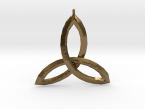 Celtic Knot Medallion in Natural Bronze