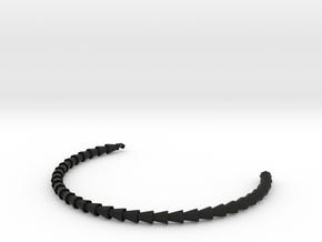 Octo in Black Natural Versatile Plastic