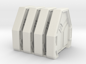 Star Wars: Imperial Assault Door Style 1 in White Natural Versatile Plastic