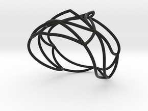Nouv Bracelet in Black Natural Versatile Plastic