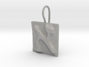 01 Alef Earring in Aluminum